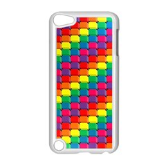 Colorful 3d Rectangles     Apple Ipod Touch 5 Case (black) by LalyLauraFLM