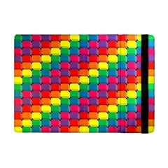 Colorful 3d Rectangles     Samsung Galaxy Tab Pro 12 2  Flip Case by LalyLauraFLM