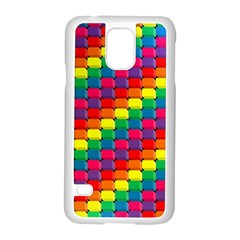 Colorful 3d Rectangles     Motorola Moto G (1st Generation) Hardshell Case by LalyLauraFLM