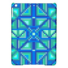 Grid Geometric Pattern Colorful Ipad Air Hardshell Cases by Nexatart