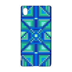 Grid Geometric Pattern Colorful Sony Xperia Z3+ by Nexatart