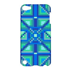 Grid Geometric Pattern Colorful Apple Ipod Touch 5 Hardshell Case by Nexatart