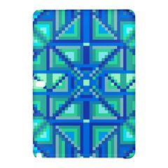 Grid Geometric Pattern Colorful Samsung Galaxy Tab Pro 10 1 Hardshell Case by Nexatart