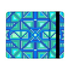 Grid Geometric Pattern Colorful Samsung Galaxy Tab Pro 8 4  Flip Case