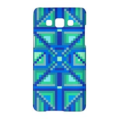 Grid Geometric Pattern Colorful Samsung Galaxy A5 Hardshell Case  by Nexatart