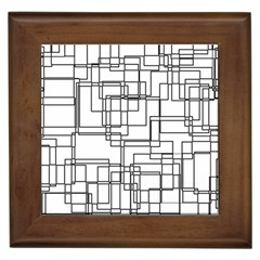 Structure Pattern Network Framed Tiles by Nexatart