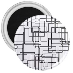 Structure Pattern Network 3  Magnets by Nexatart