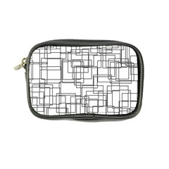 Structure Pattern Network Coin Purse by Nexatart