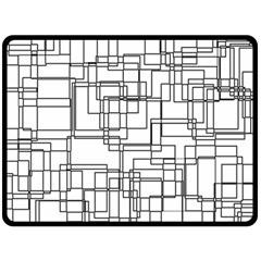 Structure Pattern Network Fleece Blanket (large)  by Nexatart