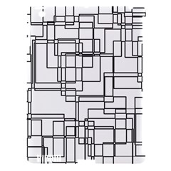 Structure Pattern Network Apple Ipad 3/4 Hardshell Case (compatible With Smart Cover) by Nexatart