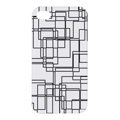 Structure Pattern Network Apple Iphone 4/4s Premium Hardshell Case by Nexatart