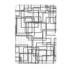 Structure Pattern Network Samsung Galaxy Tab 2 (10 1 ) P5100 Hardshell Case  by Nexatart