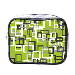 Pattern Abstract Form Four Corner Mini Toiletries Bags