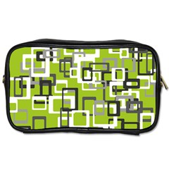 Pattern Abstract Form Four Corner Toiletries Bags 2 Side