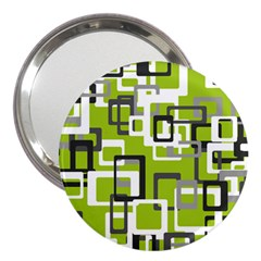 Pattern Abstract Form Four Corner 3  Handbag Mirrors by Nexatart