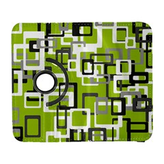 Pattern Abstract Form Four Corner Galaxy S3 (flip/folio) by Nexatart