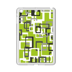 Pattern Abstract Form Four Corner Ipad Mini 2 Enamel Coated Cases