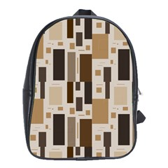 Pattern Wallpaper Patterns Abstract School Bags(large)  by Nexatart