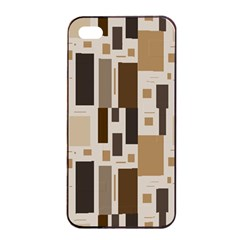 Pattern Wallpaper Patterns Abstract Apple Iphone 4/4s Seamless Case (black)