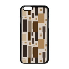 Pattern Wallpaper Patterns Abstract Apple Iphone 6/6s Black Enamel Case by Nexatart