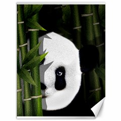 Panda Canvas 36  X 48   by Valentinaart
