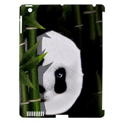 Panda Apple Ipad 3/4 Hardshell Case (compatible With Smart Cover) by Valentinaart