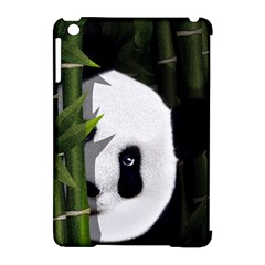 Panda Apple Ipad Mini Hardshell Case (compatible With Smart Cover) by Valentinaart
