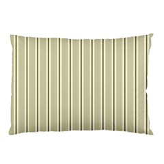 Pattern Background Green Lines Pillow Case by Nexatart