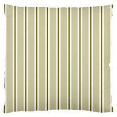 Pattern Background Green Lines Large Cushion Case (one Side)