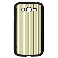 Pattern Background Green Lines Samsung Galaxy Grand Duos I9082 Case (black) by Nexatart
