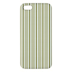 Pattern Background Green Lines Iphone 5s/ Se Premium Hardshell Case