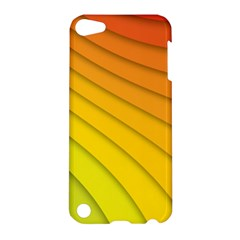 Abstract Pattern Lines Wave Apple Ipod Touch 5 Hardshell Case by Nexatart