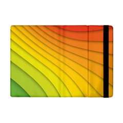 Abstract Pattern Lines Wave Ipad Mini 2 Flip Cases by Nexatart