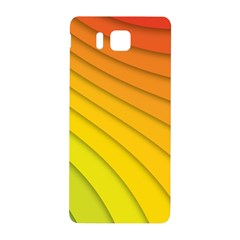 Abstract Pattern Lines Wave Samsung Galaxy Alpha Hardshell Back Case