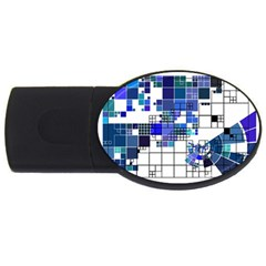 Design Usb Flash Drive Oval (2 Gb) by Nexatart