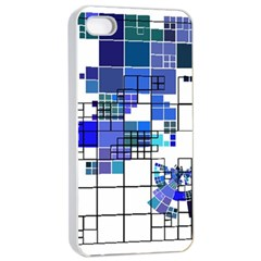 Design Apple Iphone 4/4s Seamless Case (white) by Nexatart