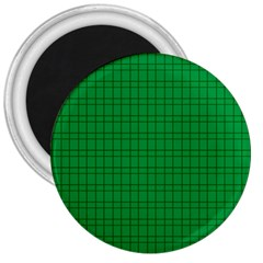 Pattern Green Background Lines 3  Magnets