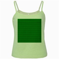 Pattern Green Background Lines Green Spaghetti Tank