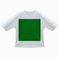 Pattern Green Background Lines Infant/Toddler T-Shirts