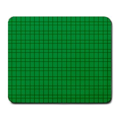 Pattern Green Background Lines Large Mousepads