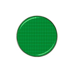 Pattern Green Background Lines Hat Clip Ball Marker (4 pack)