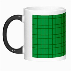 Pattern Green Background Lines Morph Mugs