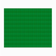 Pattern Green Background Lines Small Glasses Cloth (2-Side)