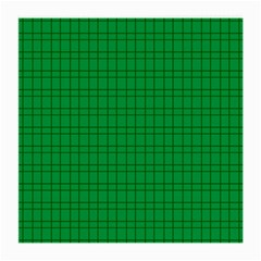 Pattern Green Background Lines Medium Glasses Cloth (2-Side)