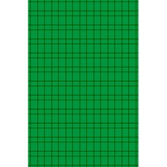 Pattern Green Background Lines 5.5  x 8.5  Notebooks