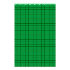 Pattern Green Background Lines Shower Curtain 48  X 72  (small)  by Nexatart