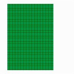 Pattern Green Background Lines Small Garden Flag (Two Sides)