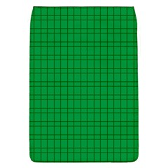 Pattern Green Background Lines Flap Covers (L)