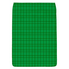 Pattern Green Background Lines Flap Covers (S)