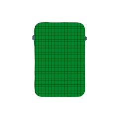 Pattern Green Background Lines Apple iPad Mini Protective Soft Cases